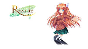 Rewrite BD Vol.3 Title Menu by SquallEC