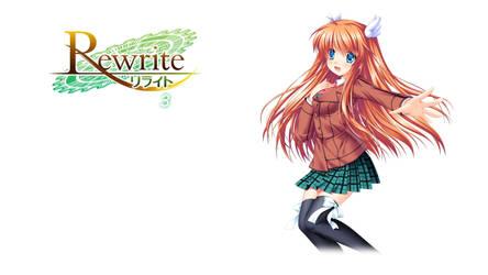 Rewrite BD Vol.3 Title Menu by SquallEC