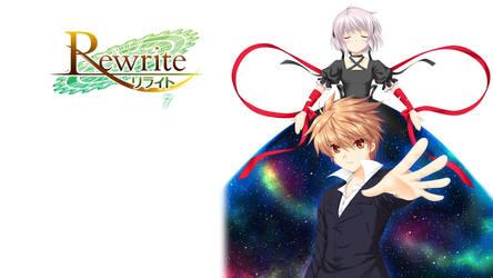 Rewrite BD Vol.7 Title Menu by SquallEC