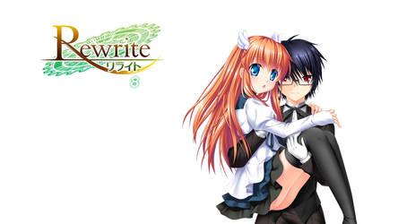 Rewrite BD Vol.8 Title Menu