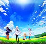 Summer Pockets Title Menu Panorama