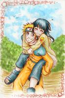 Naruto and Hinata by wwiwa84