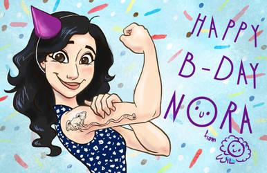 Happy B-day Nora! by wwiwa84