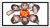 Azumanga Daioh Stamp by CARDI-ology