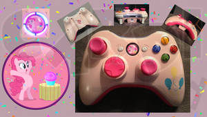 Pinkie Pie Custom Xbox 360 Controller