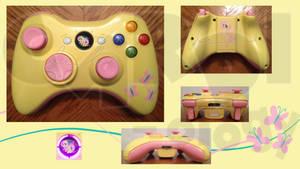 Fluttershy Custom Xbox 360 Controller