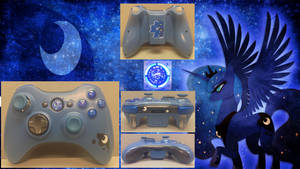 Princess Luna-Themed Xbox 360 Controller