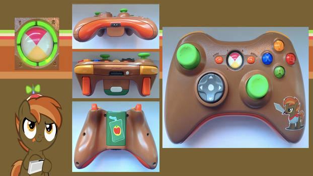Button Mash Custom Xbox360 Controller by CARDI-ology