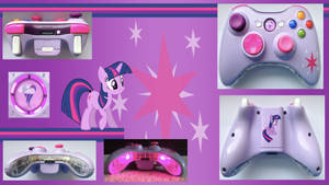 Twilight Sparkle Custom X360 Controller