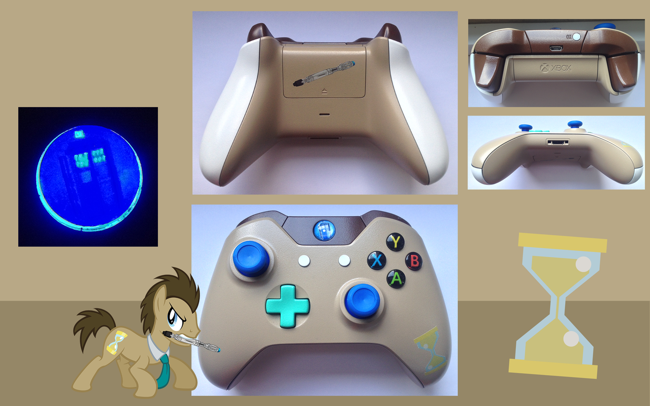 Dr Whooves Custom Xbox One Controller By Cardi Ology On