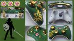 The Legend of Zelda Custom Xbox 360 Controller