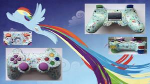 Rainbow Dash MLP:FiM Custom PS3 Controller