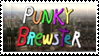 Punky Brewster Stamp by CARDI-ology