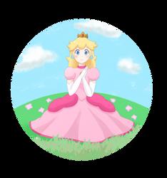 Princess Peach - Flower by PeachyEmily
