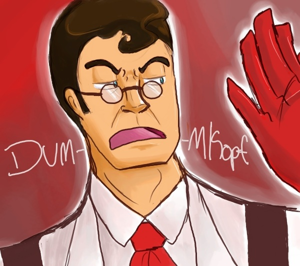 The Medic is not pleased by AnimeAntie