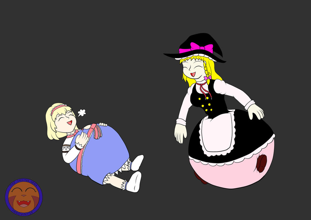 :COM: Black Magicked Alice And Marisa By Arrowny18 On