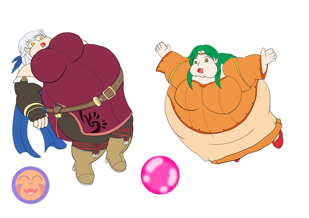 :COM: Bloated Micaiah And Elincia By Arrowny18 On DeviantArt