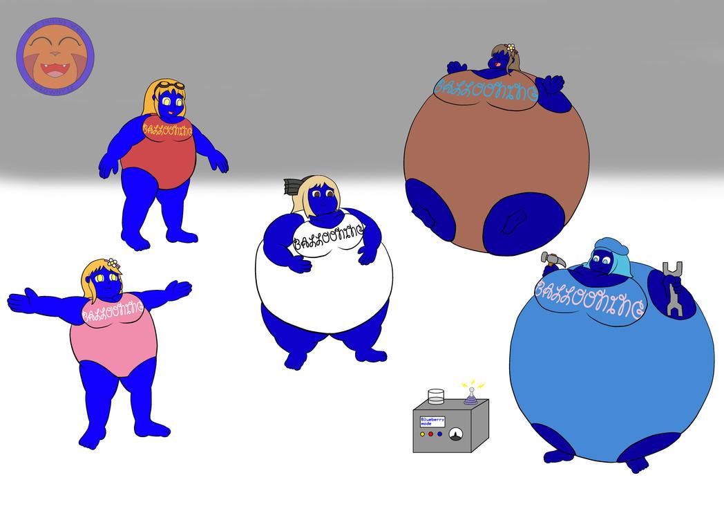 :COM: Blueberry Machine By Arrowny18 On DeviantArt