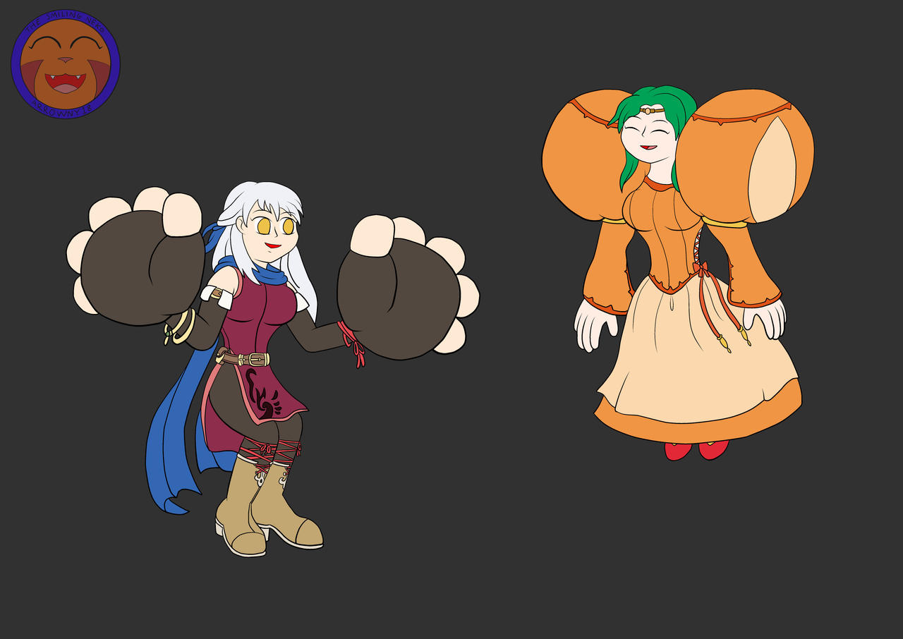 :COM: Black Magicked Micaiah And Elincia By Arrowny18 On