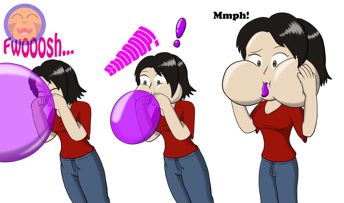 :COM: Lucy's Balloon Blowback By Arrowny18 On DeviantArt