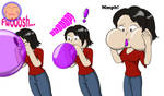 :COM: Lucy's Balloon Blowback