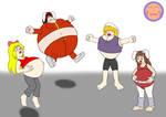 :COM: Aerobics Karen, Chiaki, Jill, and Megumi