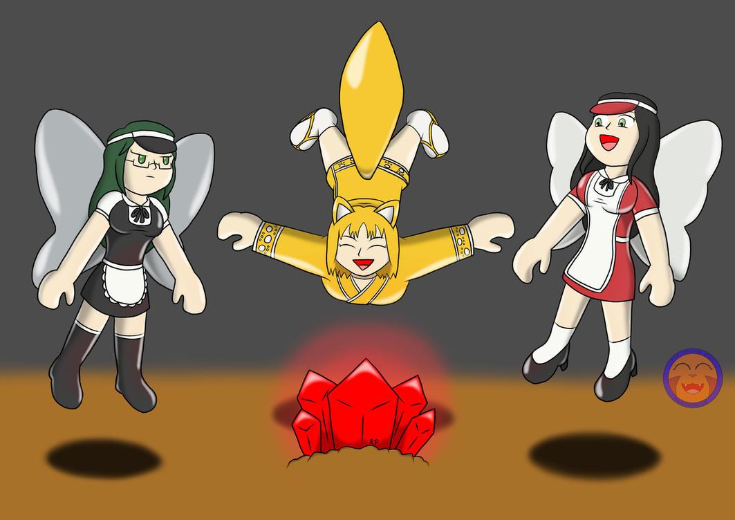 :COM: Red Balloonium Kuroi, Makoto, And Joy By Arrowny18