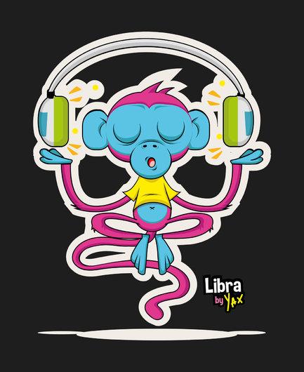 Libra monkey by chikuso