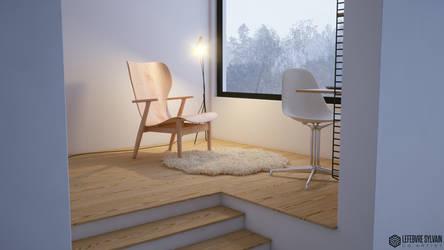 Winter Home 1 by sylvainCG