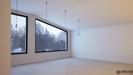 Winter Home 3 by sylvainCG
