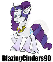 Headcannon Rarity by BlazingCinders90