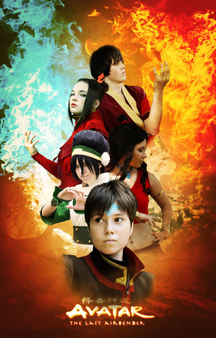 AVatar The  Last Airbender by TophWei