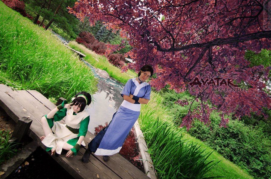 Toph, Katara - Avatar: The Last Airbender by TophWei