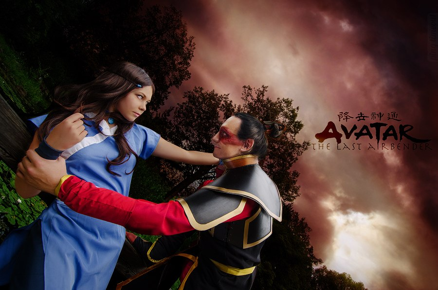 Katara, Zuko - Avatar: The Last Airbender by TophWei