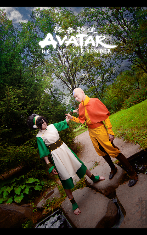 Toph, Aang - Avatar: The Last Airbender by TophWei