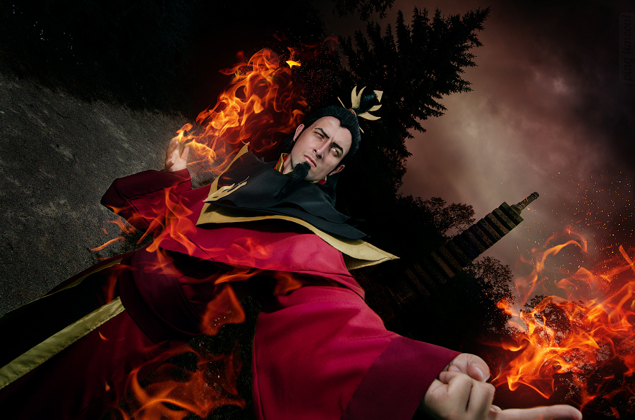 Fire Lord Ozai - Avatar: The Last Airbender by TophWei