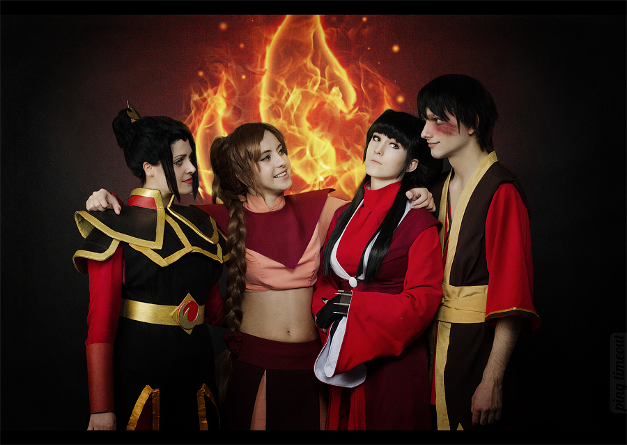 Avatar The Last Airbender - Fire nation by TophWei