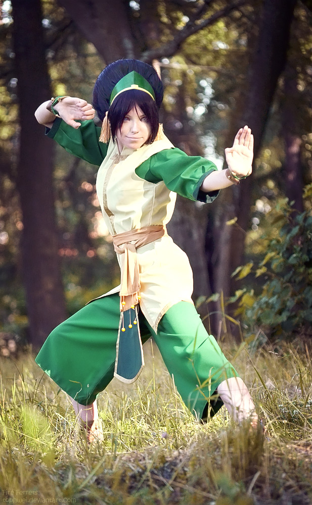 last toph airbender the cosplay Avatar