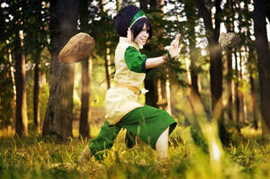 Toph Bei Fong - Best Earthbender by TophWei