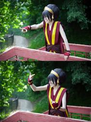 Toph Bei Fong - Avatar. Fuck you!