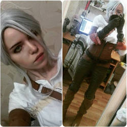Cirilla costume by TophWei