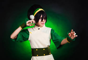 Toph Bei Fong  - melon Lord by TophWei