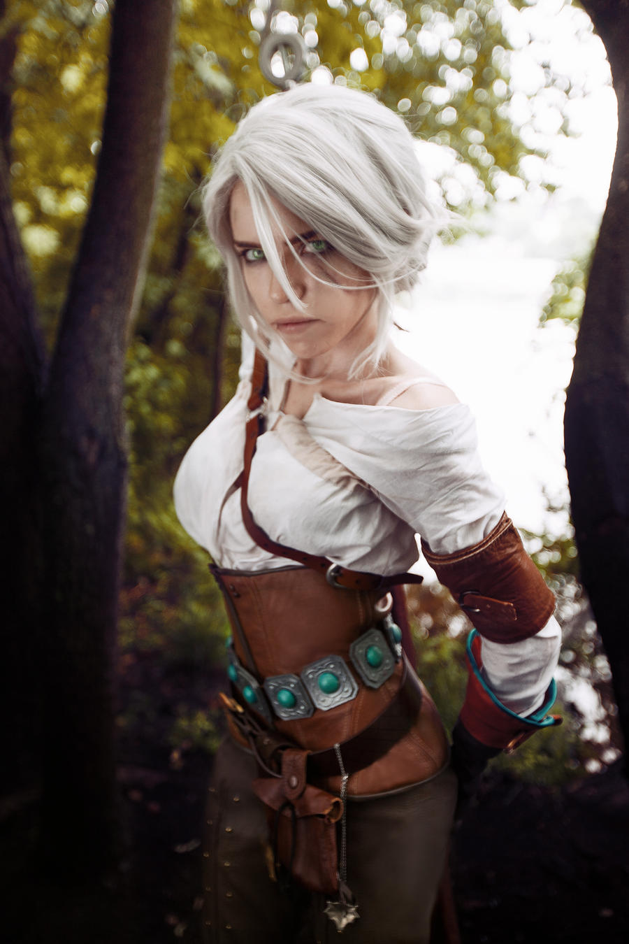 Cirilla - The Witcher: wild hunt by TophWei on DeviantArt