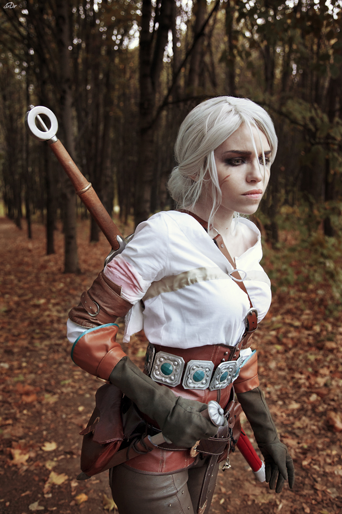 Cirilla - The witcher - Sadness by TophWei