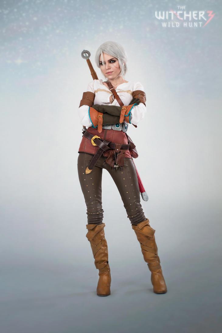 Cirilla (Ciri) The Witcher - Nice girl by TophWei