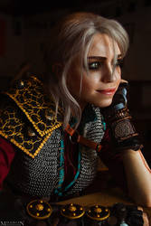 The Witcher - Ciri by TophWei