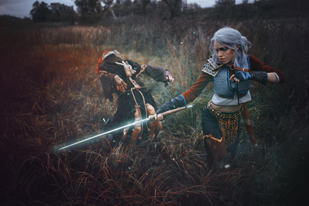 Ciri Cirilla Witcher by TophWei