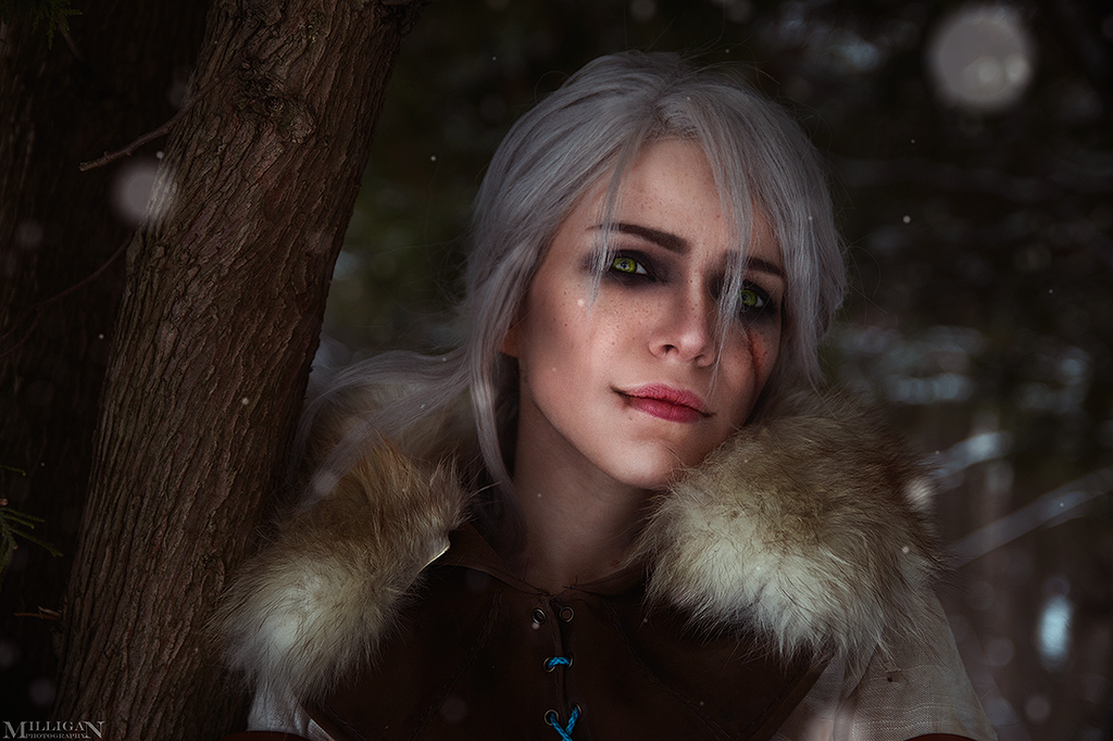 Cirilla Witcher cosplay by TophWei