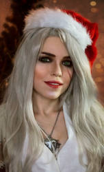 New Year Ciri by TophWei