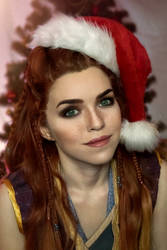 Christmas Aloy Horizon Zero Dawn